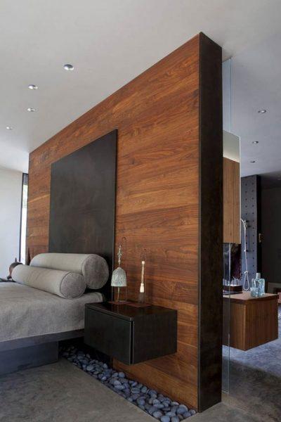 Walnut laminate wall orev